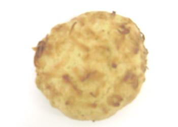 Comprar Masa congelada para galleta con sabor a coco y decoración de coco rayado