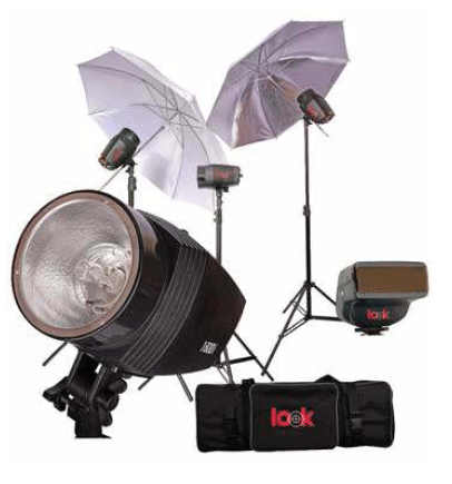 Compro Equipo de Luces Look 160 Watts