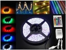 Comprar Luminarias Strip LED rollo de 10 mts