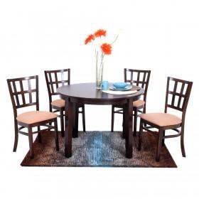 Home Furniture  Juego de Comedor para 4 Personas