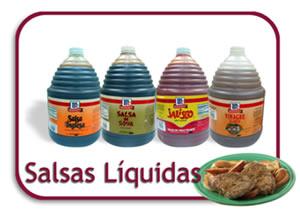 Comprar Salsas Líquidas Food Service