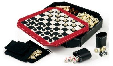 Comprar Mainstreet Classics Set de 5 juegos en uno –tablero en forma de octágono