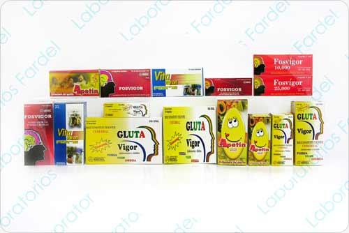 Vitamínicos Línea Popular