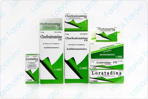 Dermatológicos Antihistamínico