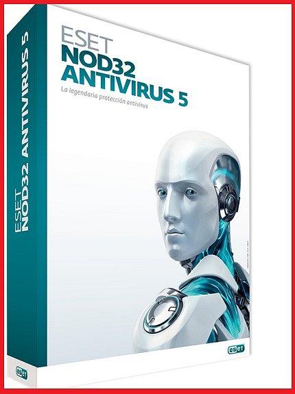 Установите Антивирус ESET NOD32 или ESET NOD32 Smart Security 5.0, ключ