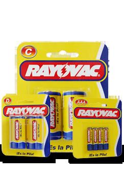 Comprar Pilas Zinc Carbón de Rayovac