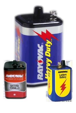 Comprar Batería Heavy Duty de 6V de Rayovac