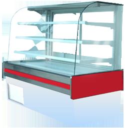 Comprar Vitrina Vidrio Curvo Modelo: VCR-277