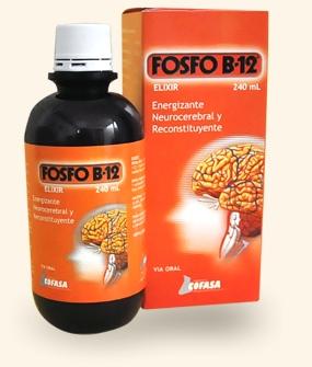Comprar Fosfo B12 (240ml.) (Energizante y reconstituyente)