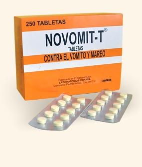 Comprar Novomit-T (Antiemético y antivertiginoso)