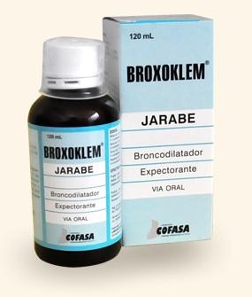 Comprar Broxoklem (Broncodilatador y expectorante)