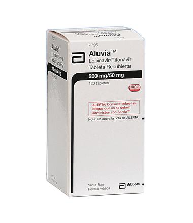 Comprar Lopinavir/ritonavir Tabletas Aluvia