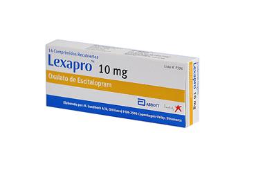 Comprar Inhibidor selectivo de la recaptación de serotonina (ISRS) Lexapro