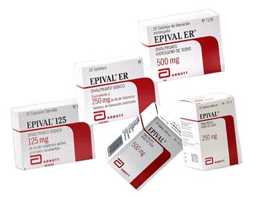 Comprar Anticonvulsivo, compuesto de ácido valproico Epival