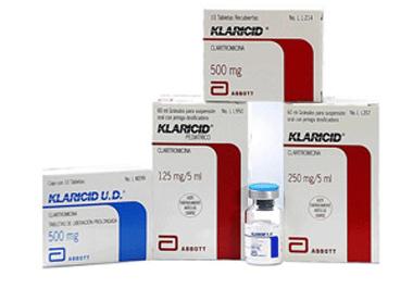 Comprar Antibiótico macrólido Klaricid