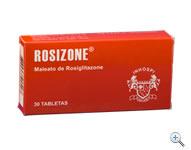 Comprar Terapia Oral para la Diabetes Mellitus Tipo II Rosizone®