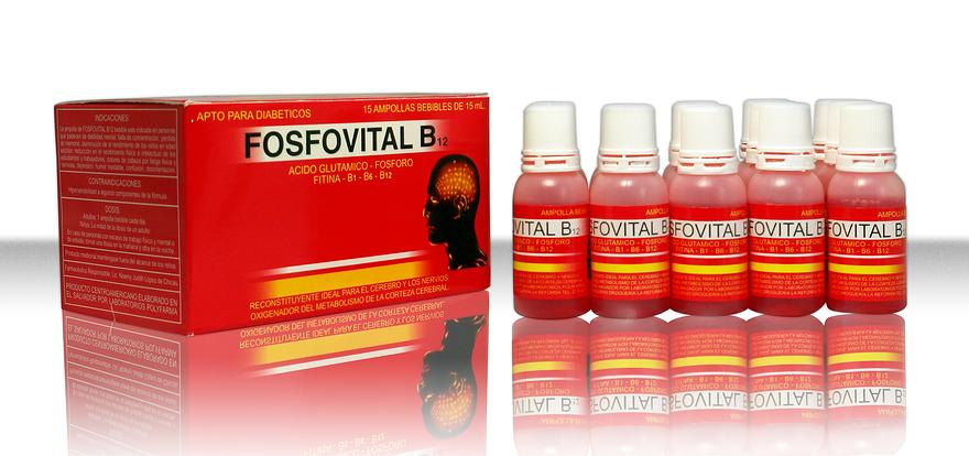 Comprar Fosfovital B12