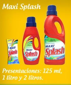 Comprar Detergente Líquido Maxi Splash