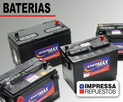 Comprar Baterias para automóviles
