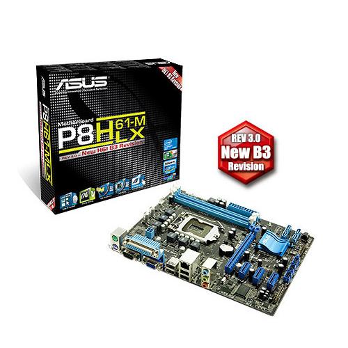 Comprar MB Asus P8H61-‐M/LX3 1155/DDR3