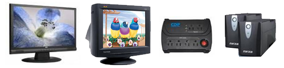 Monitores CTR y LCD