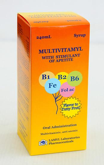 Comprar Multivitamyl Vit. B1,B2,B6, Ciproheptadina Multivitaminas