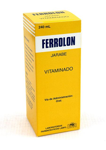 Comprar Ferrolon B12 Hierro, B1,B6,B12 Vitaminas/Antianémico