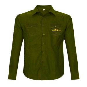 Comprar Camisa verde manga larga