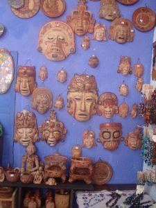 Comprar Mascaras de ceramica precolombina