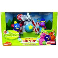 Comprar Backyardigans Circus Friends Bobblin' Big Top Figure 3-Pack