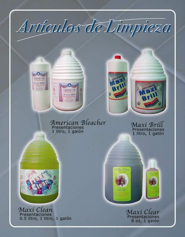 Comprar Maxi Clean Artículos de Limpieza