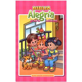 Comprar Biblia Alegría para niñas NVI