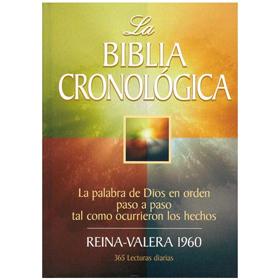 Comprar La Biblia Cronológica RVR 1960