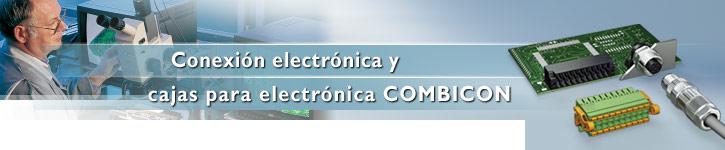 Comprar Conexión electrónica y cajas para electrónica Combicon Marca Phoenix Contact