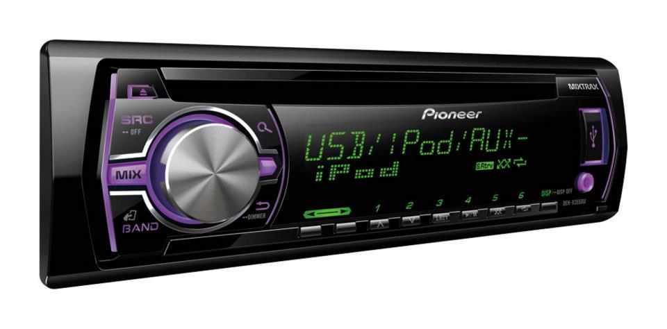 Comprar Pioner DEH-X3550UI Radio Mixtra