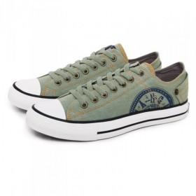 Comprar Psico-Modelo 5022 Zapatillas de tela verde palido