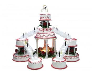 Comprar Torta de boda Castillo