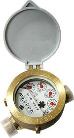 Comprar Contador para agua fría ALFA-SJ-LFC (Cuerpo bronce)