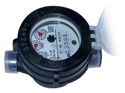 Comprar Contador para agua fría ALFA-SJ-LFC (Cuerpo Plástico)