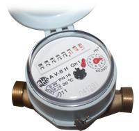 Comprar Contador para agua fría ALFA-SJ-SDC (Cuerpo bronce)