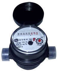 Comprar Contador para agua fría ALFA-SJ-SDC (Cuerpo plástico)