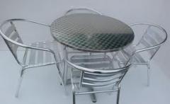 Sillas y Mesas de Aluminio
