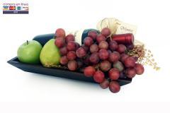 Bandeja de Vino y Frutas