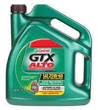 Lubricante Castrol GTX Alto Kilometraje
