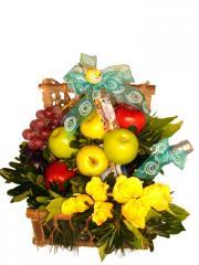 Arreglo de Frutas y Flores  Garden Fruit