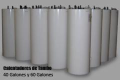Calentadores de Tambo