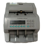 Contadora y escáner de billetes para trabajo