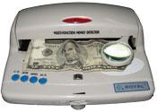 Lampara detectora de billetes