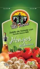 Salsitas De Tomate Preparada Con Hongos