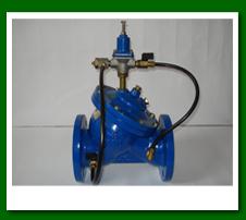 Valvulas reductora/reguladora de presion y